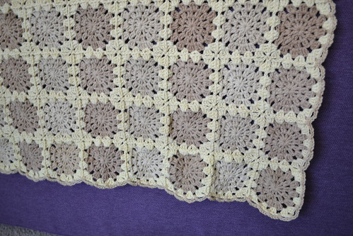 Sunburst Crochet Blanket