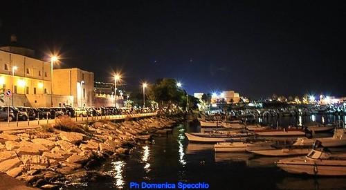 Manfredonia di notte by Domenica Specchio