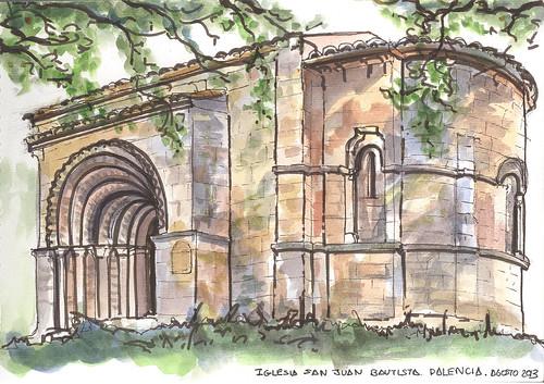 Iglesia de San Juan Bautista en Palencia