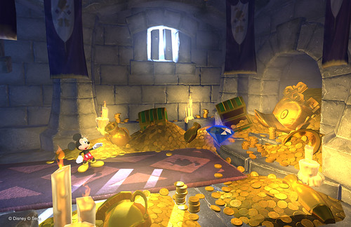 Castle of Illusion - Launch Screens