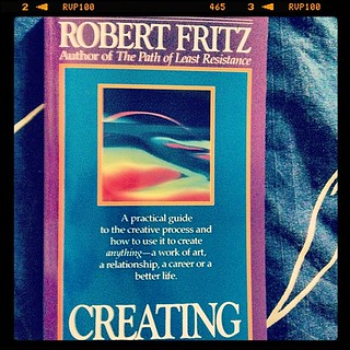 Creating by Robert Fritz. Hat tip: Tomas Löwstedt, Dynamic Urge.