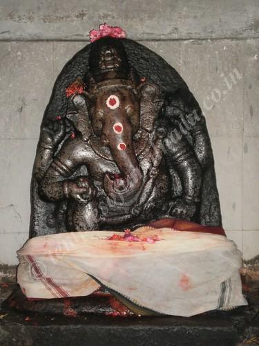 Valampuri Vinayakar, Thiruvaneswarar temple, Ranganathapuram
