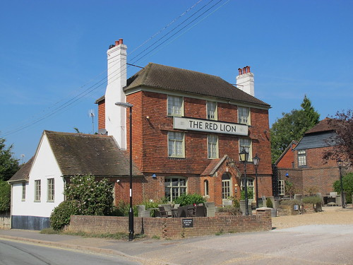 The Red Lion pub Ashington West Sussex UK