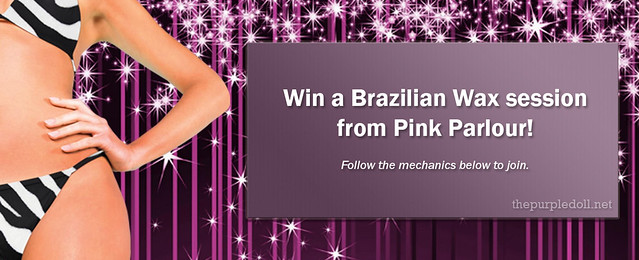 PinkParlour Brazilian Wax Giveaway The Purple Doll