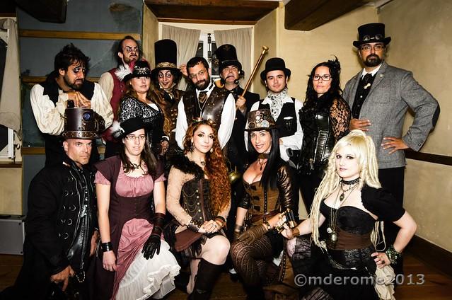 """Photo de """"famille"""" Steampunk Montréal"""