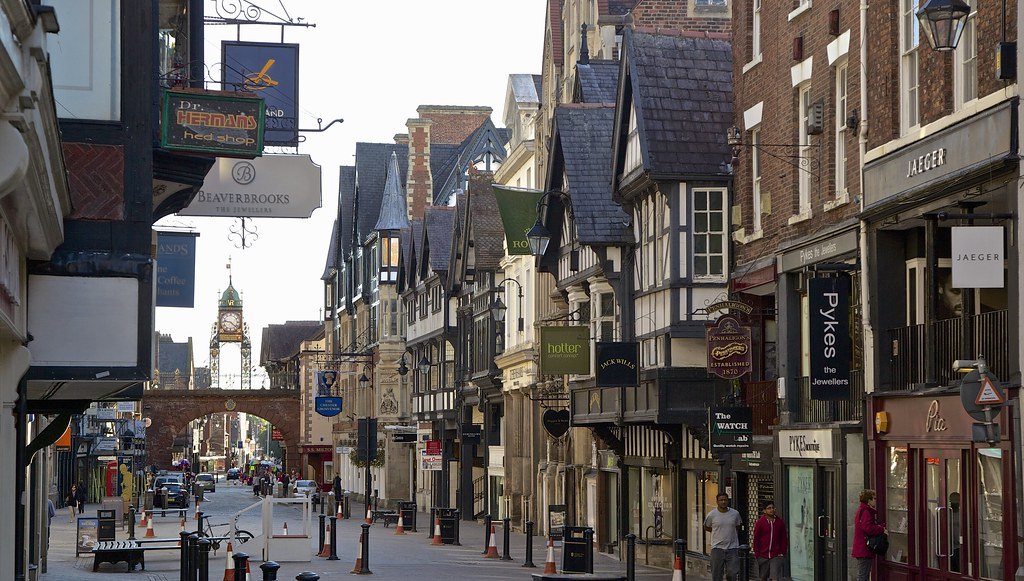 Eastgate and Eastgate Clock Chester