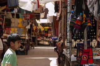 Peru - Sacred Valley -  Pisac Food and Souvenir Market