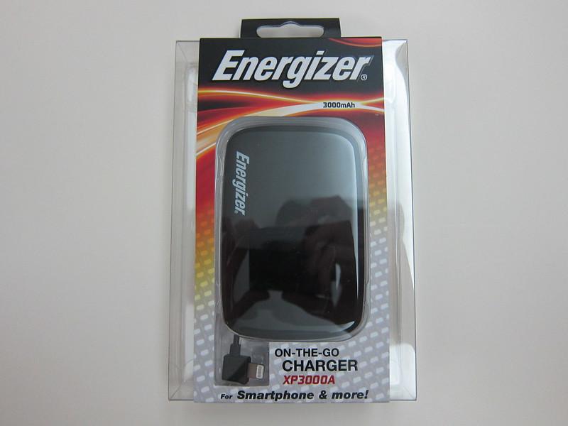 Energizer XP3000A - Box Front