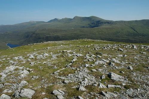 Strathfarrar hills from Sgurr Coire nan Eun