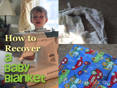 How to Recover a Baby Blanket