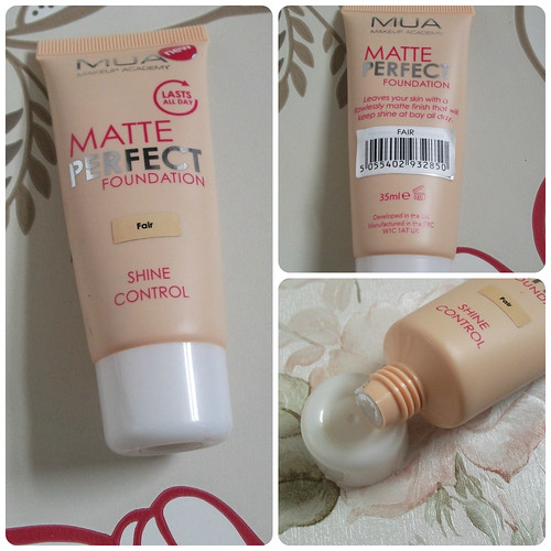 MUA Matte Perfect Foundation Review