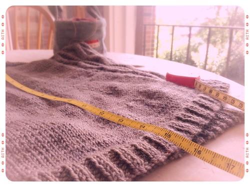 Sweater Progress 2
