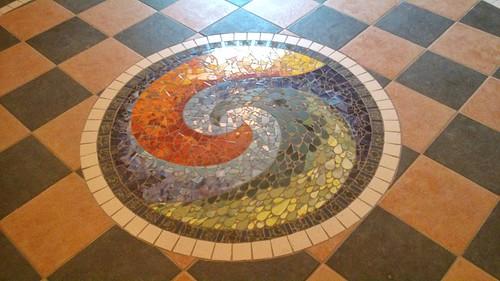 9bf796c512 Celtic spiral mosaic by Laura O Hagan