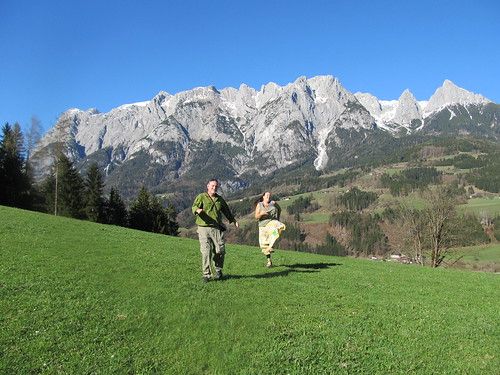 The hills were alive - singing the Sound of Music in Austria