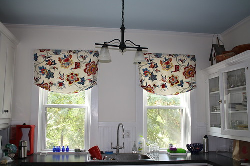 New House curtains