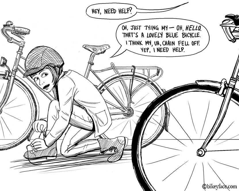 Romancing the Bike