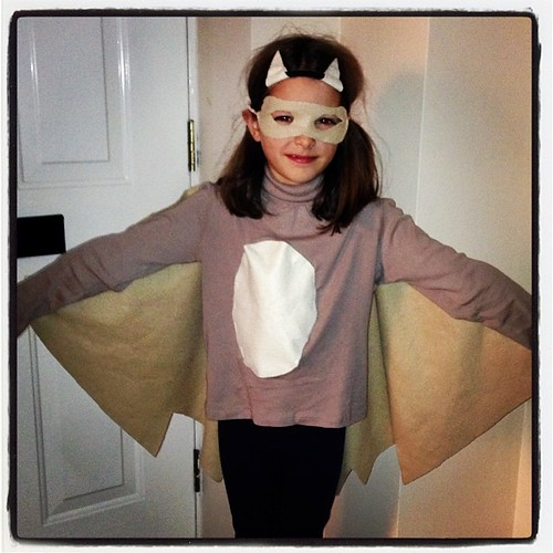 Josie decided to be a realistic bat #halloween