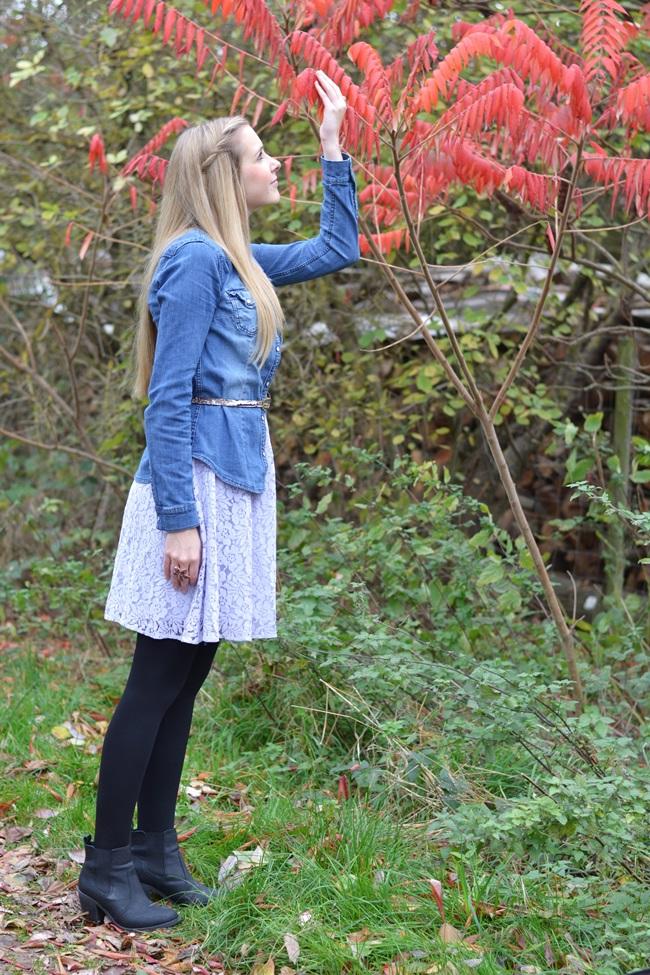 Sommerkleid im Herbst stylen (3)
