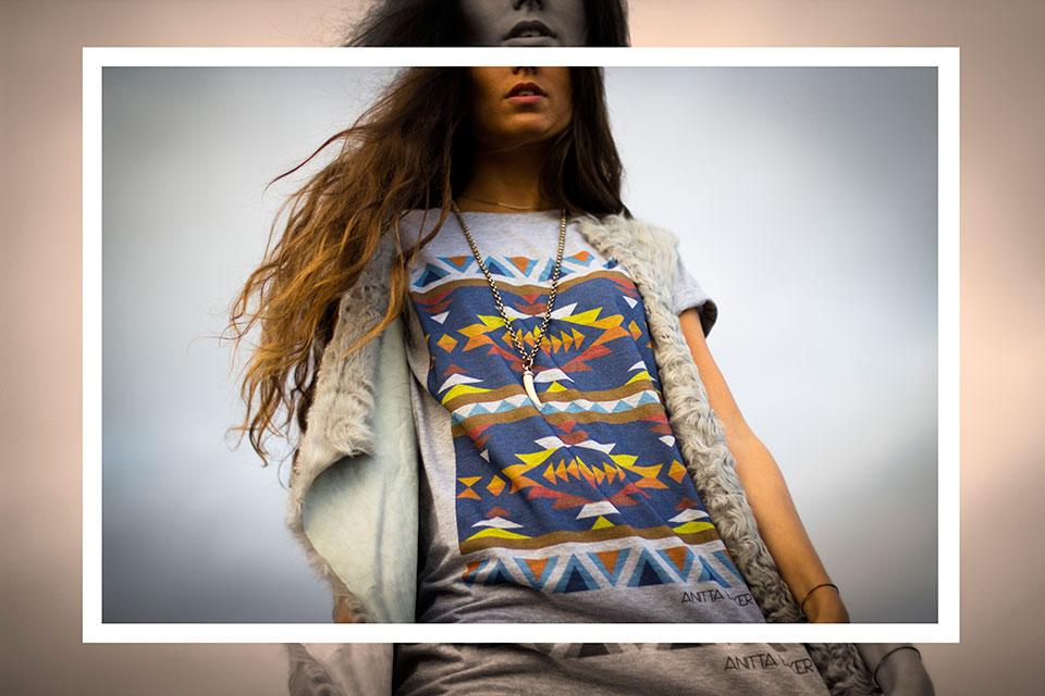 camiseta navajo