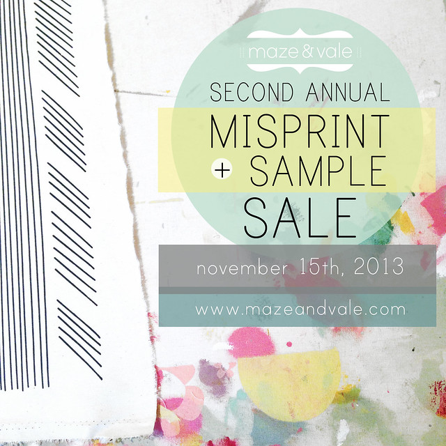 Maze & Vale Misprint + Sample Sale