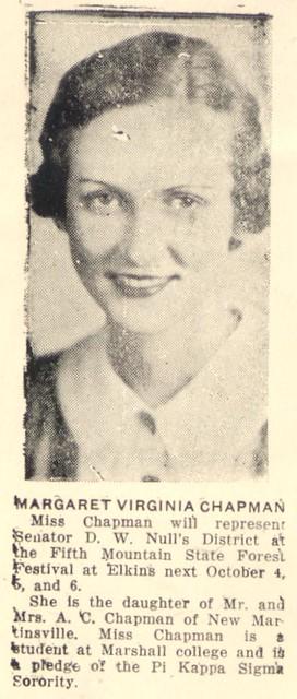 Header of Virginia Chapman