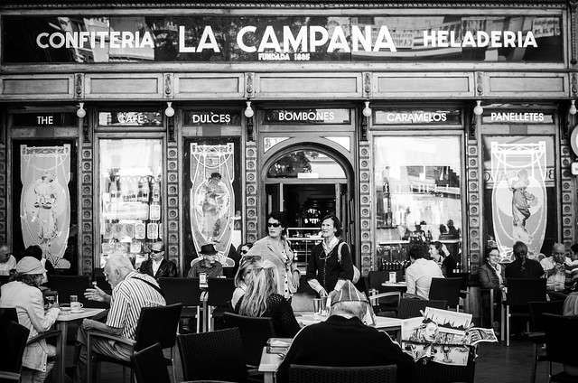 La Campana bakery in Sevilla, Spain.