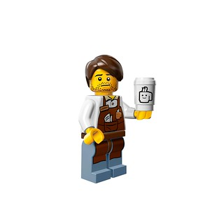 LEGO The Movie 71004 - Collectible Minifigures - Larry the Barista