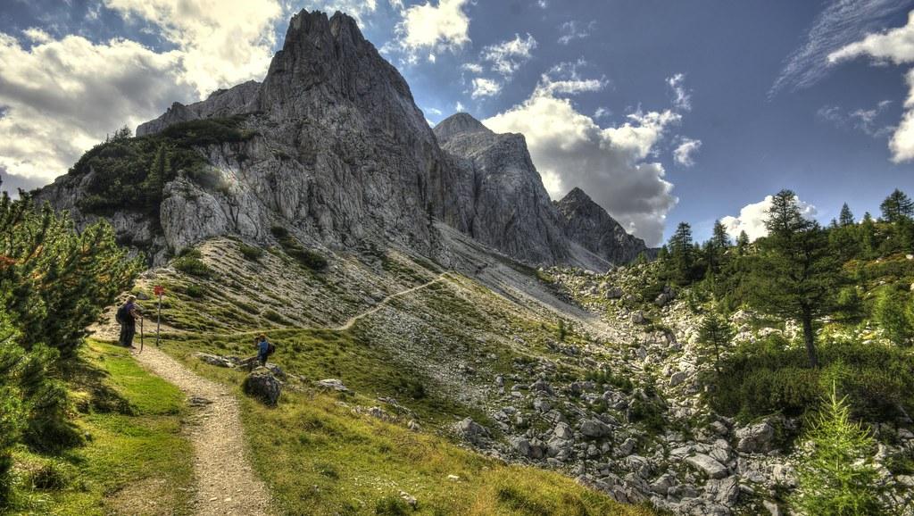 Eslovenia, rutas de montaña