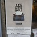 Ace in the Hole Poster in Paris, typewriter