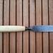 A 1 1/4 inch plain edge chisel from Erik Anton Berg of Sweden