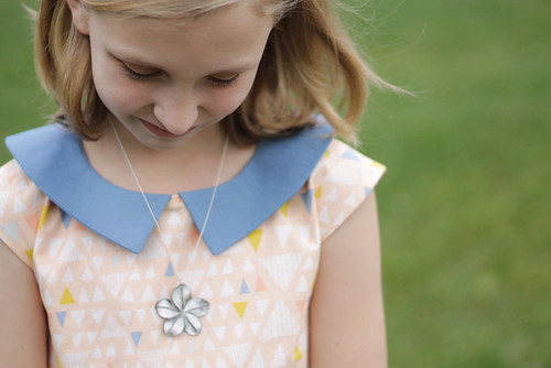 a party dress fit for a pre-tween