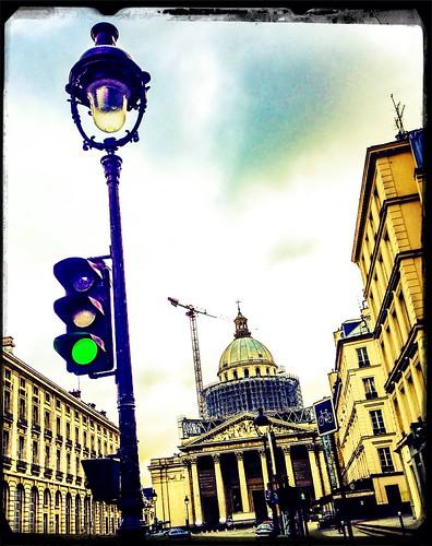 Blue Cloud Blancmange by Paris Set Me Free