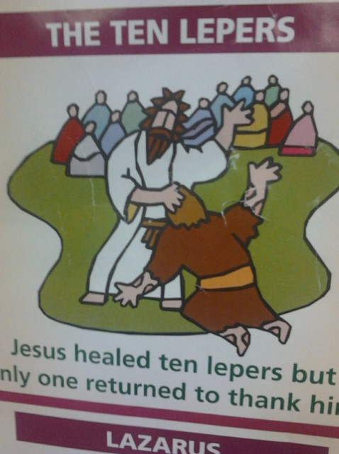 The 10 Lepers