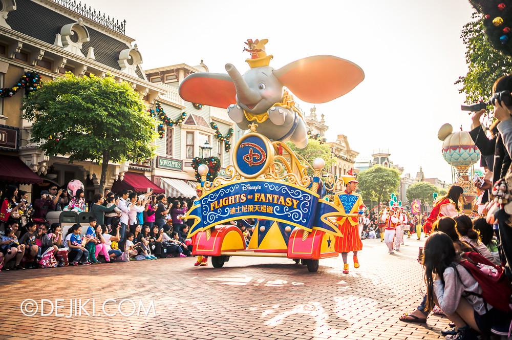 Flights of Fantasy - Opening Unit - Dumbo's flight