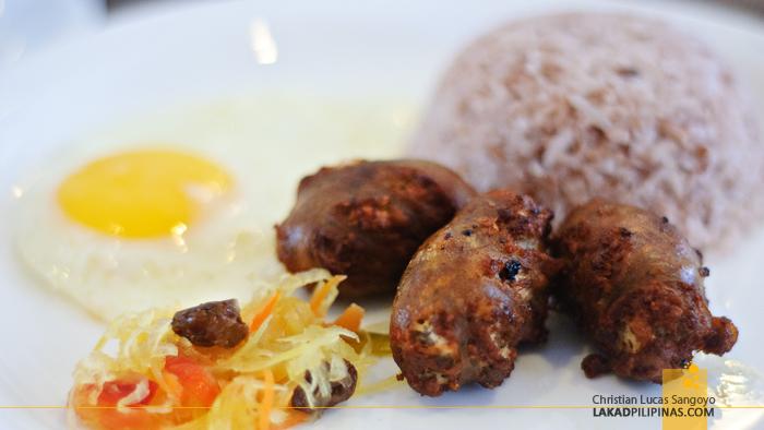 Baguio Longanisa for Breakfast
