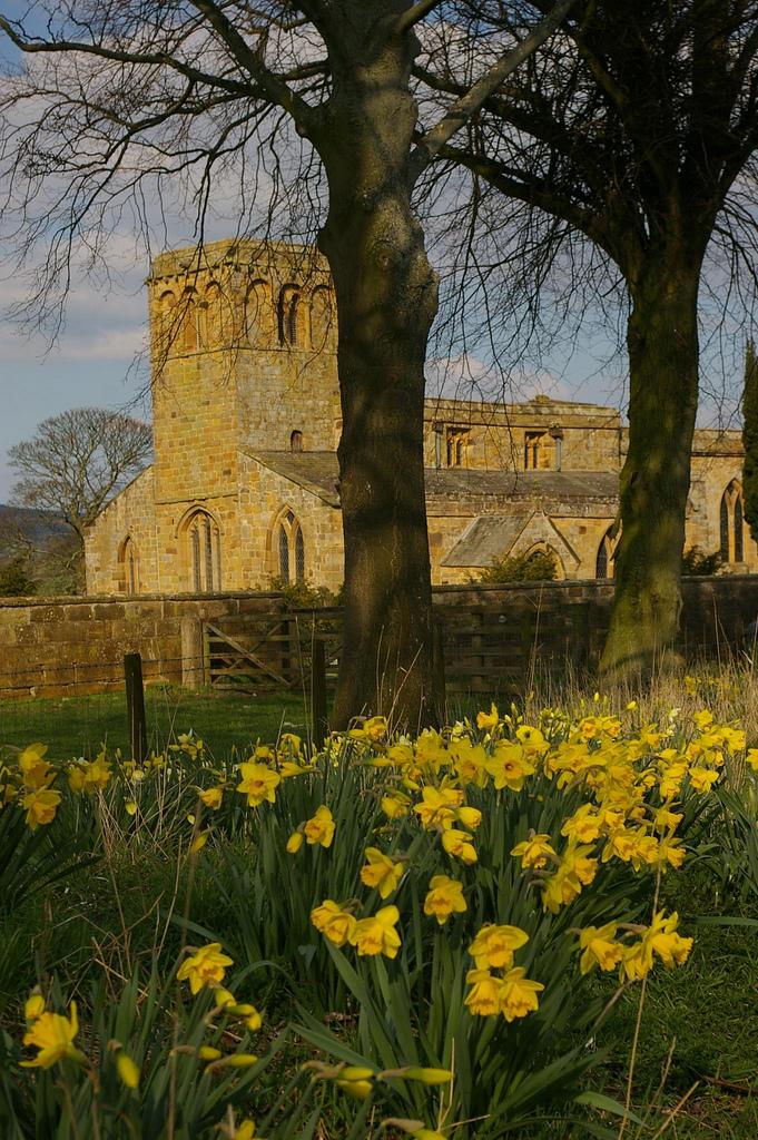 9. La iglesia de Leake, cerca de Thirsk. Autor, Dvdbramhall