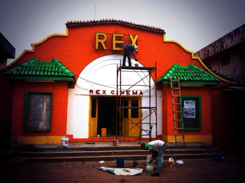 Freshly Painted Rex Cinema