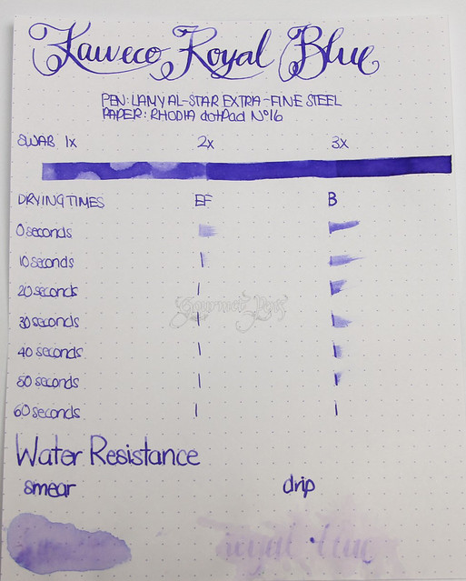 @Kaweco Royal Blue Ink @JetPens