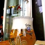 ベルギービール大好き!!トリプル・カルメリートKarmeliet Tripel @ベル・オーブららぽーと豊洲