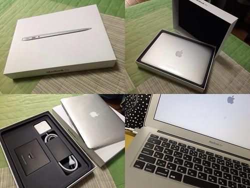 新しい MacBook Air 13inch