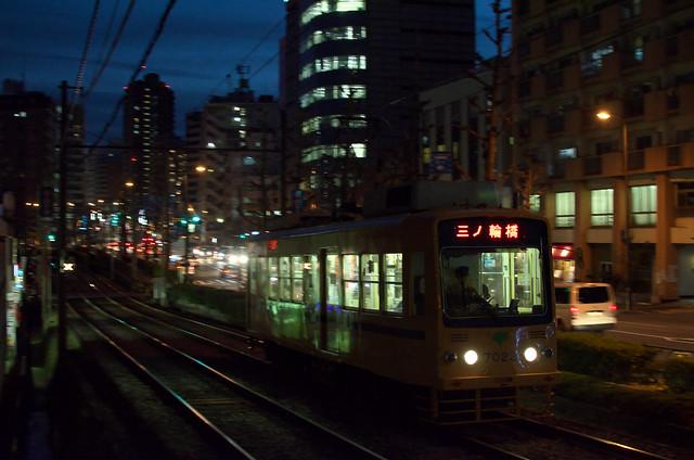 Tokyo Train Story 都電荒川線 2013年12月16日