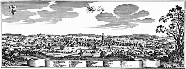 Matthäus Merian - Marienberg (XVII Century)