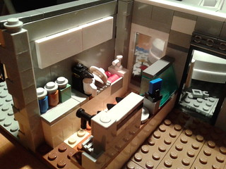 Lego Town House - Cafe