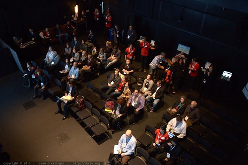 Audience in the Black Box Virtual Room   TEDxSanDiego 2013