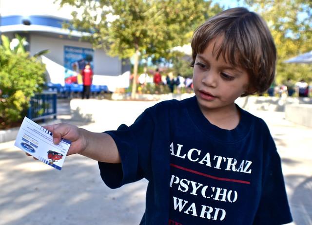 Legoland, Florida - drive test attraction ride - driving license