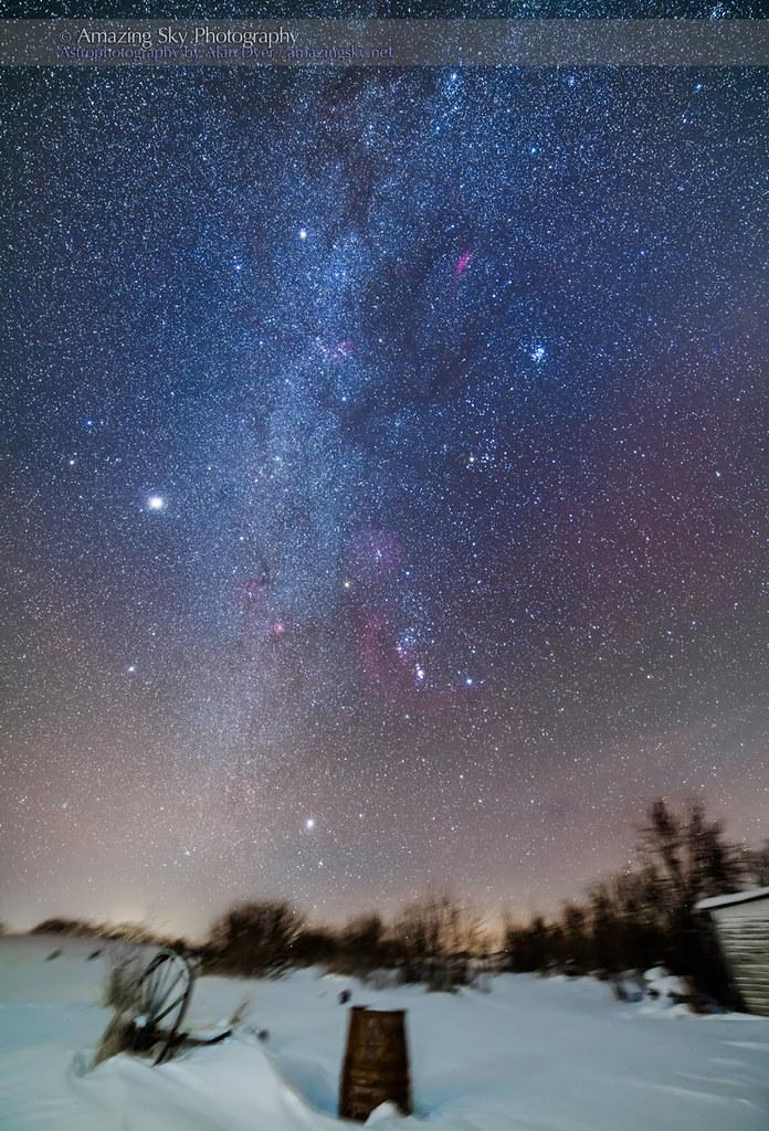 Orion Winter Sky (Christmas 2013)