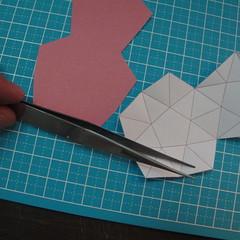 โมเดลกระดาษรูปดาว 002