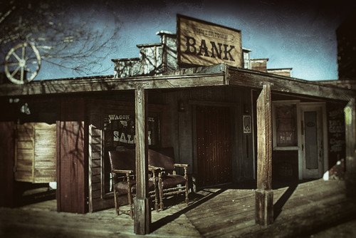 Pioneertown Bank by hbmike2000