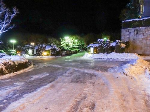 エクシブ山中湖の駐車場