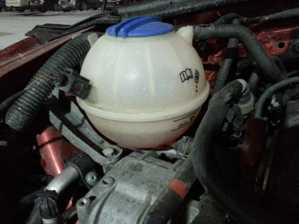 Vwvortexcom Low Engine Coolant For Life Is A Joke Vehicle Anyone Else Experience